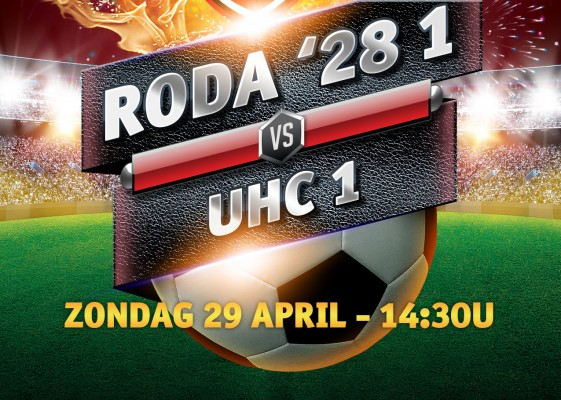 29 April - 14:30u - RODA '28 1 - UHC 1