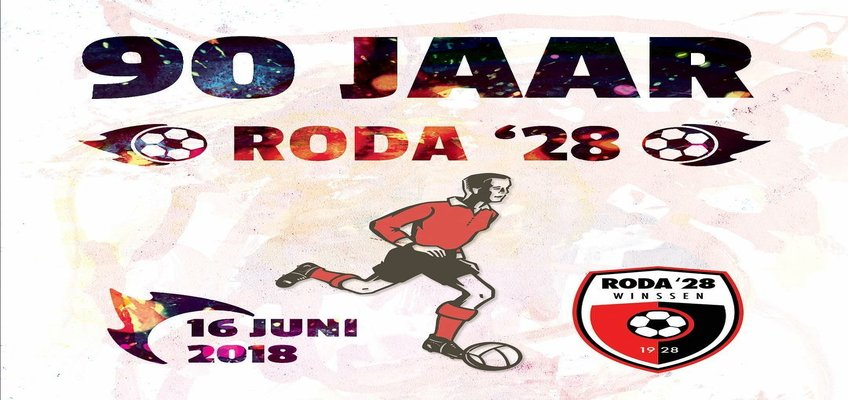 90 Jarige bestaan RODA'28